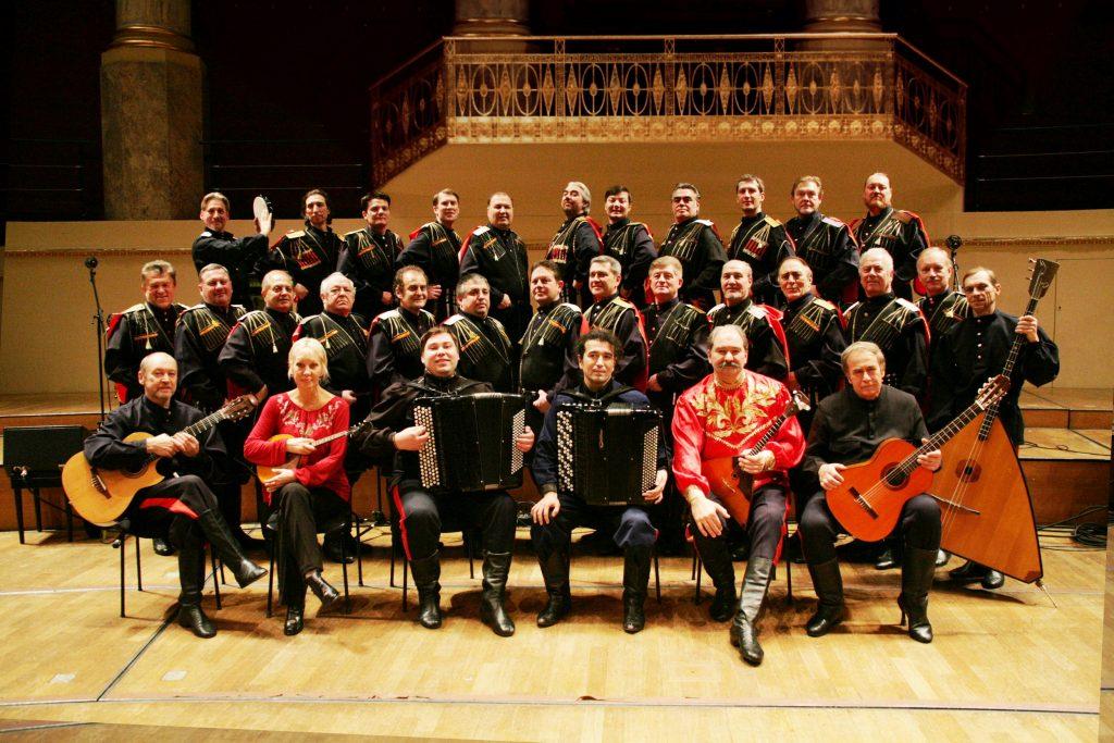 Bolschoi Don Kosaken Große Gruppe